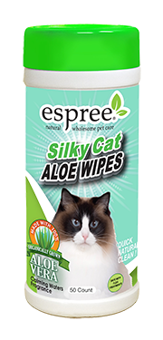 Espree Silky Cat Aloe Wipes