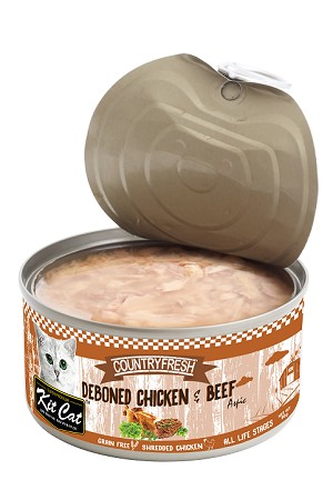 KitCat Deboned Chicken with Beef Aspic 80g