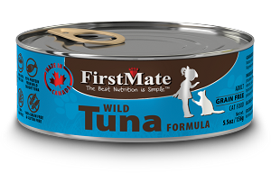 FirstMate Grain & Gluten Free, Wild Tuna Cat Canned