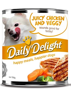 Daily Delight Juicy Chicken and Veggy