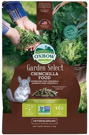 Oxbow Garden Select : Chinchilla 3lbs