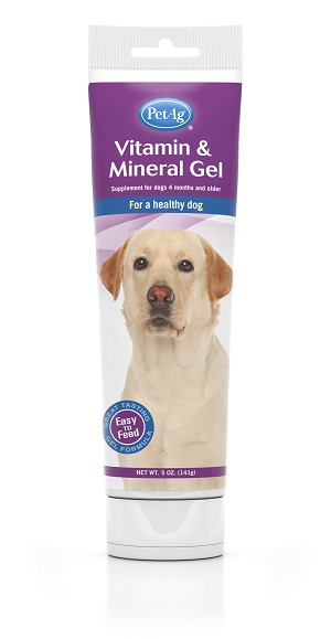 PetAg Vitamin & Mineral Gel (For Dogs)