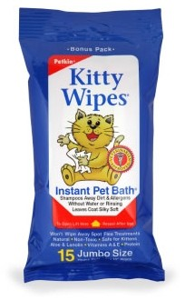PETKIN Kitty Wipes