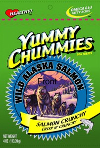Yummy Chummies Salmon Crunchy