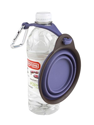 Popware Travel Cup With Bottle Holder & Carabiner