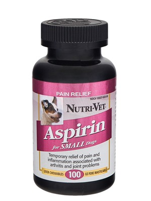 Nutrivet Aspirin Pain Relief - for Small Dogs