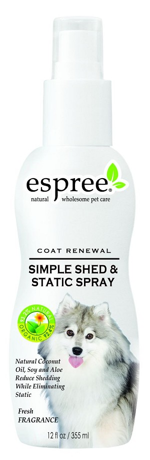 Espree Simple Shed & Static Spray