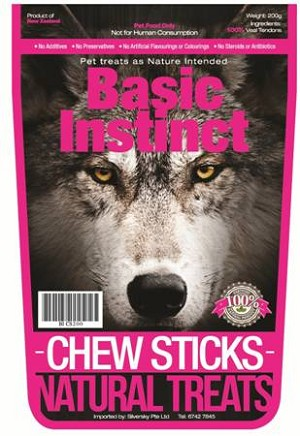 Basic Instinct Chew Sticks